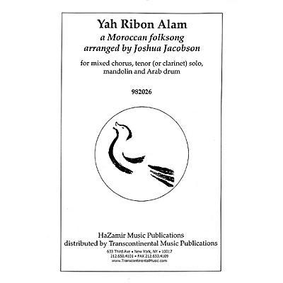 Transcontinental Music Yah Ribon Alam SATB arranged by Joshua Jacobson
