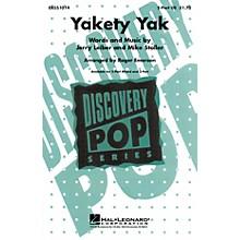 Hal Leonard Yakety Yak 2-Part arranged by Roger Emerson