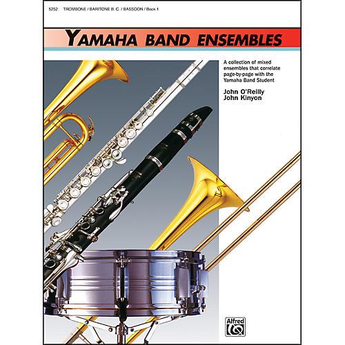 Alfred Yamaha Band Ensembles Book 1 Trombone Baritone B.C. Bassoon