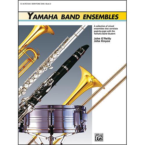 Alfred Yamaha Band Ensembles Book 2 Alto Sax Baritone Sax