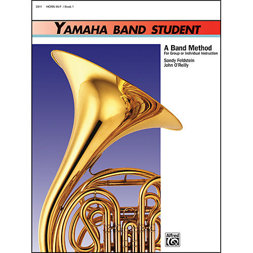 Alfred Yamaha Band Student Book 1 Horn in F