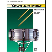 Alfred Yamaha Band Student Book 2 PercussionSnare Drum Bass Drum & Accessories