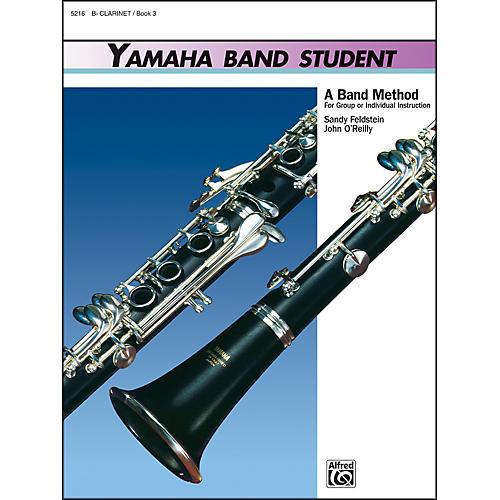 Alfred Yamaha Band Student Book 3 B-Flat Clarinet
