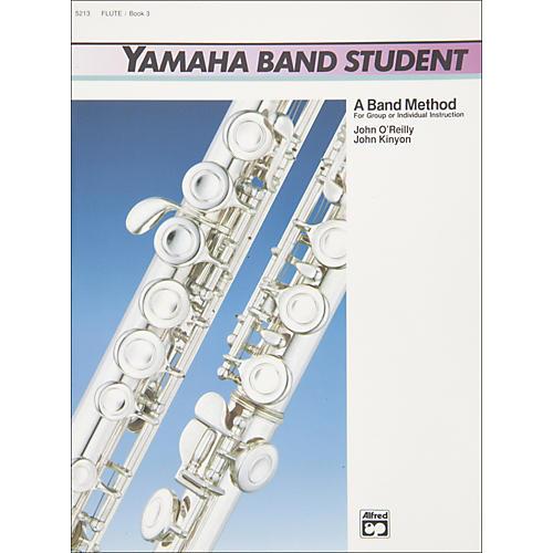 Alfred Yamaha Band Student Book 3 Flute