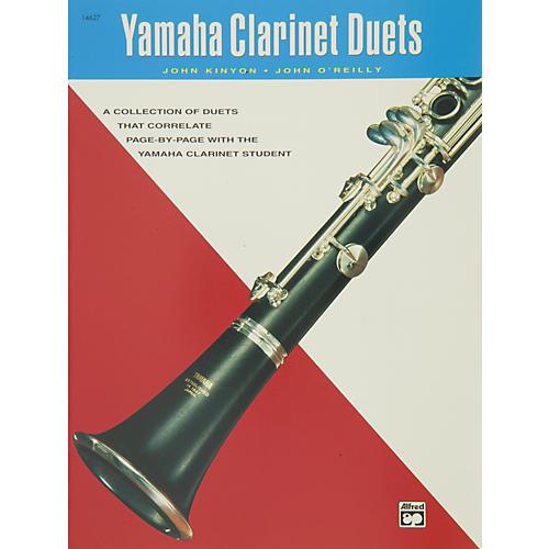 Alfred Yamaha Clarinet Duets Book