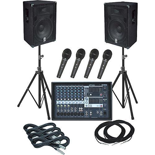 Yamaha Yamaha EMX312SC / BR15 PA Package