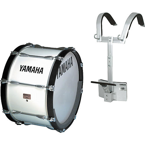 yamaha yamaha power lite 18 inch bass drum w carrier musician 39 s friend. Black Bedroom Furniture Sets. Home Design Ideas