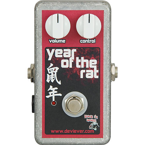 Devi Ever Year of the Rat Boost Guitar Effects Pedal