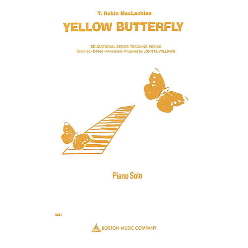 Music Sales Yellow Butterfly Music Sales America Series