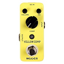 Open Box Mooer Yellow Comp Optical Compressor Guitar Effects Pedal