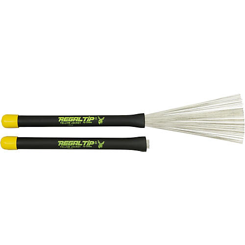 Regal Tip Yellow Jacket Throw Brush