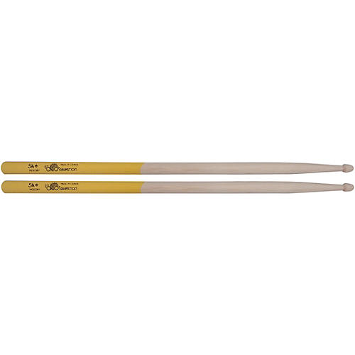 Los Cabos Drumsticks Yellow Jacket White Hickory Drum Sticks
