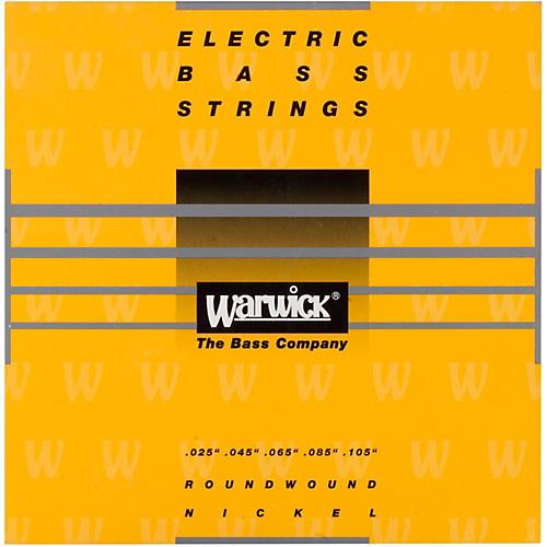 Warwick Yellow Label 5-String Medium High C Nickel Bass Strings