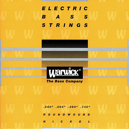 Warwick Yellow Label Nickel Medium Light 4-String Bass Strings