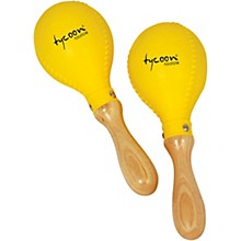 Tycoon Percussion Yellow Plastic Maracas