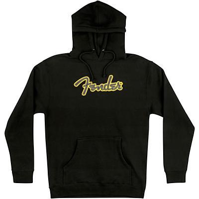 Fender Yellow Stitch Logo Hoodie