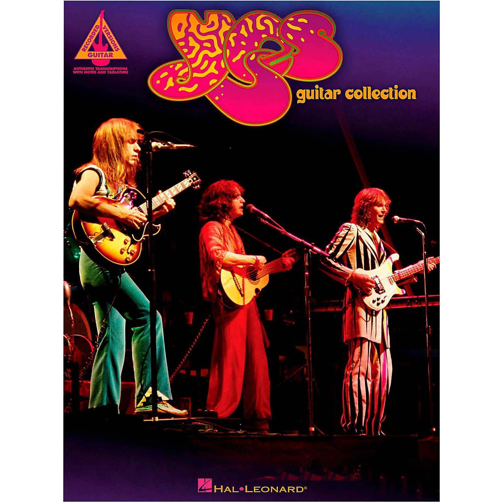 Hal Leonard Yes Guitar Collection Guitar Tab Songbook
