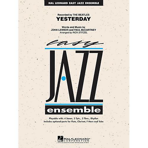 Hal Leonard Yesterday Jazz Band Level 2 Arranged by Rick Stitzel