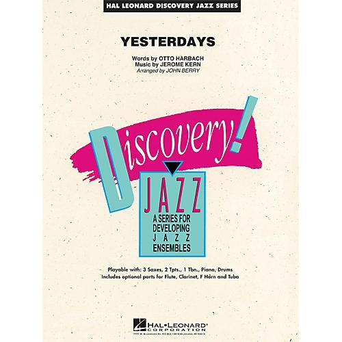 Hal Leonard Yesterdays - Discovery Jazz Series Level 1.5