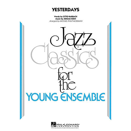 Hal Leonard Yesterdays  - Young Jazz Classics Level 3