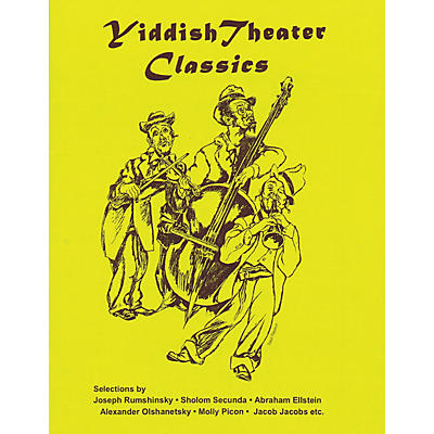 Tara Publications Yiddish Theater Classics Songbook Tara Books Series Softcover