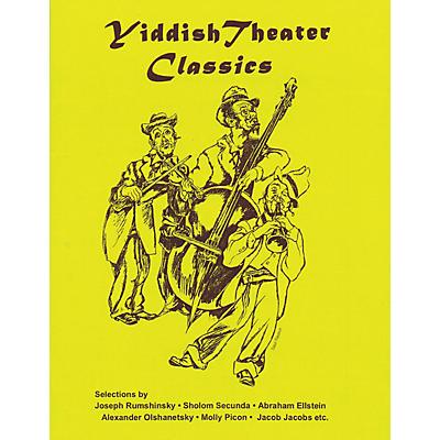 Tara Publications Yiddish Theater Classics Songbook Tara Books Series Softcover
