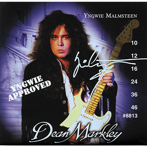 Dean Markley Yngwie Approved Ball End Nickel Steel Light 10-46 Electric Guitar Strings