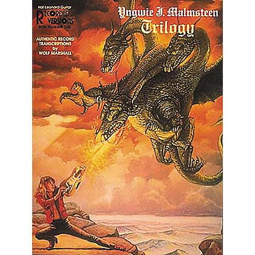 Hal Leonard Yngwie J. Malmsteen Trilogy Guitar Tab Songbook
