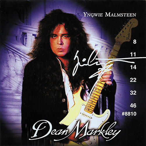 dean markley yngwie malmsteen ball end super light electric guitar strings musician 39 s friend. Black Bedroom Furniture Sets. Home Design Ideas