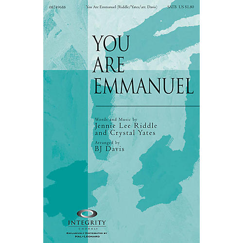 Integrity Choral You Are Emmanuel Orchestra Arranged by BJ Davis