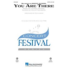 Hal Leonard You Are There TTBB Arranged by Ed Lojeski