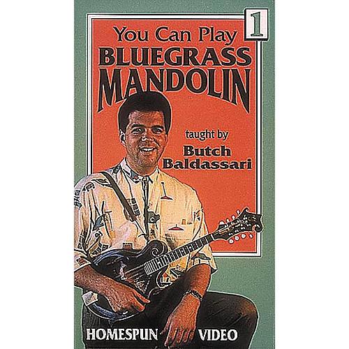 Homespun You Can Play Bluegrass Mandolin 1 (VHS)