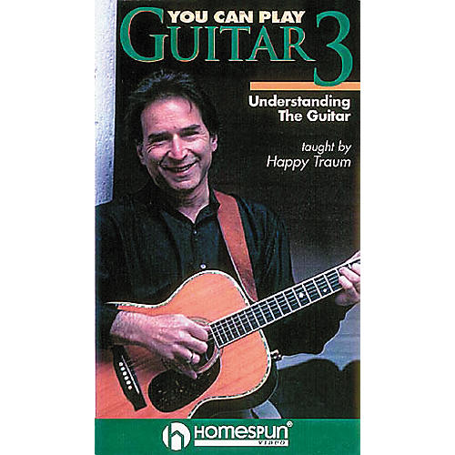 Homespun You Can Play Guitar 3 (VHS)