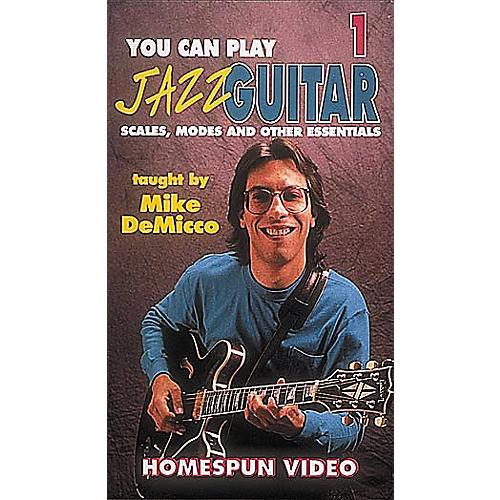 Homespun You Can Play Jazz Guitar 1 (VHS)