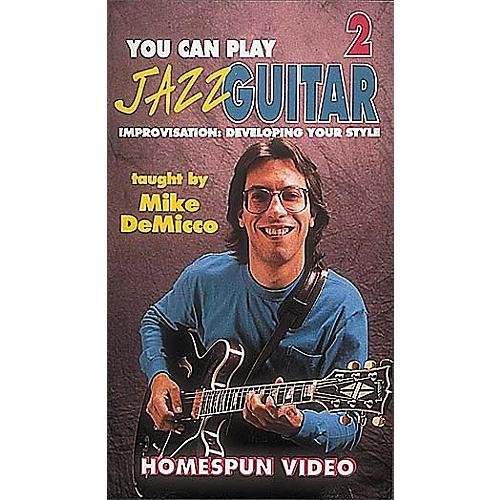 Homespun You Can Play Jazz Guitar 2 (VHS)