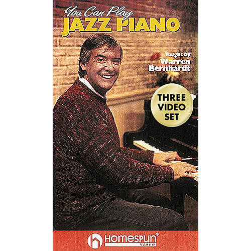Hal Leonard You Can Play Jazz Piano - 3-Video Set