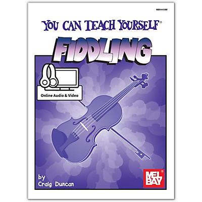 Mel Bay You Can Teach Yourself Fiddling, Book plus Online Audio