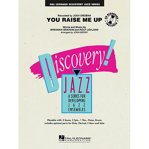 Hal Leonard You Raise Me Up Jazz Band Level 1-2 Arranged by John Berry