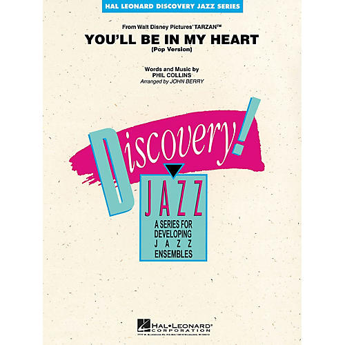 Hal Leonard You'll Be in My Heart (Pop Version) Jazz Band Level 1-2 Arranged by John Berry