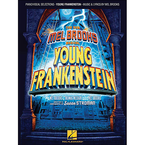 Hal Leonard Young Frankenstein arranged for piano, vocal, and guitar (P/V/G)