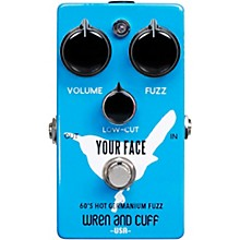Open Box Wren And Cuff Your Face 60's Fuzz Effects Pedal