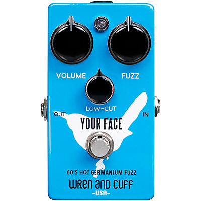 Wren And Cuff Your Face 60's Fuzz Effects Pedal