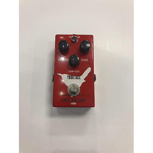 Wren And Cuff Your Face 70s Fuzz Effect Pedal