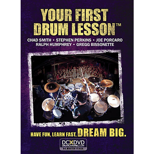 The Drum Channel Your First Drum Lesson DVD