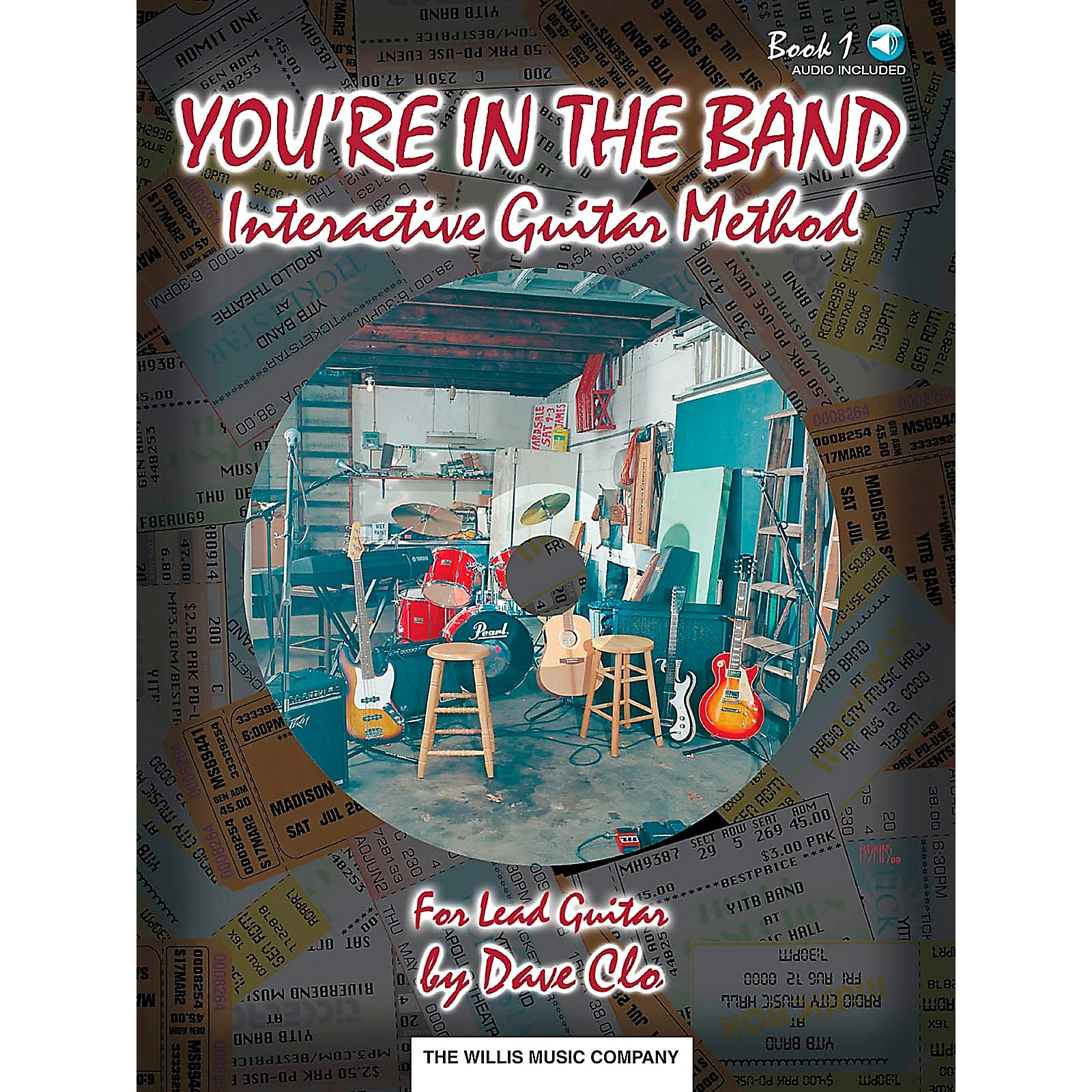 Willis Music You're In The Band Lead Guitar Method Book 1 Book/CD