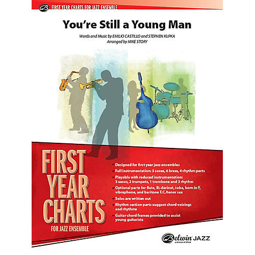 Alfred You're Still a Young Man Jazz Band Grade 1 Set
