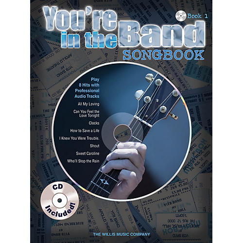 Willis Music You're in the Band - Songbook 1 Willis Series Softcover with CD