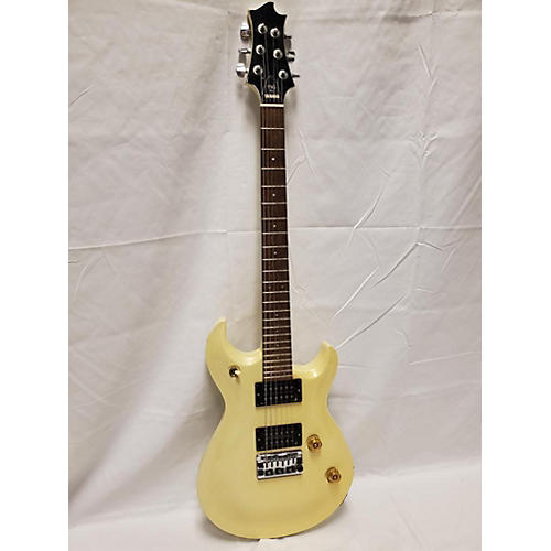 Yamaha Ysg Solid Body Electric Guitar White