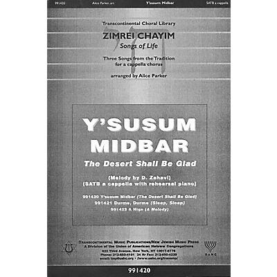 Transcontinental Music Y'susum Midbar (The Desert Shall Be Glad) SATB a cappella arranged by Alice Parker