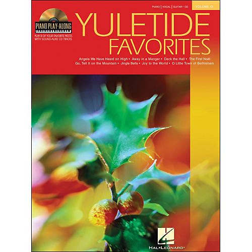 Hal Leonard Yuletide Favorites Book/CD Volume 13 Piano Play-Along arranged for piano, vocal, and guitar (P/V/G)